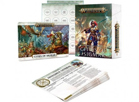 Cities of Sigmar - Warscroll Cards