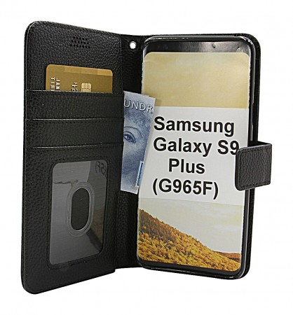 New Standcase Wallet Samsung  Galaxy S9 Plus (G965F) - Sort