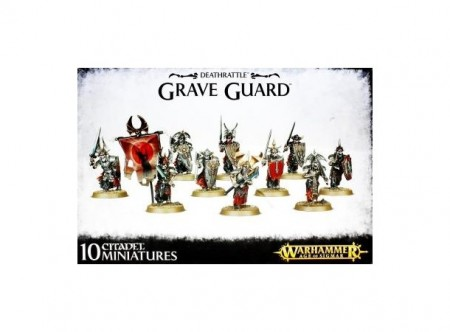 Legions of Nagash - Deathrattle Grave Guard