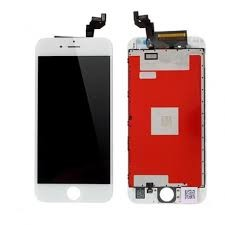 iPhone 6s - Display med orginal LCD - Hvit