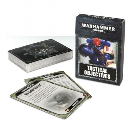 Warhammer 40K - Tactical Objective Cards