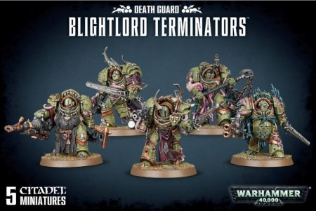 Death Guard - Blightlord Terminators