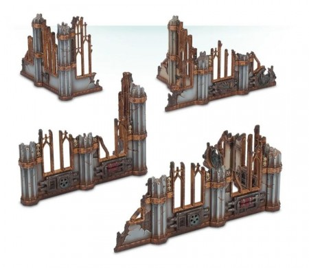 Warhammer 40K - Sector Imperialis Ruins
