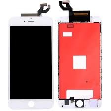 iPhone 6s Plus - LCD display Premium - Hvit