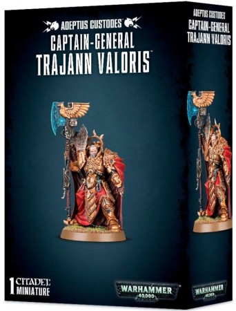 Adeptus Custodes - Captain-General Trajann Valoris