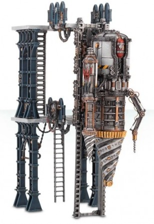 Warhammer 40K - Sector Imperialis Tectonic Fragdrill