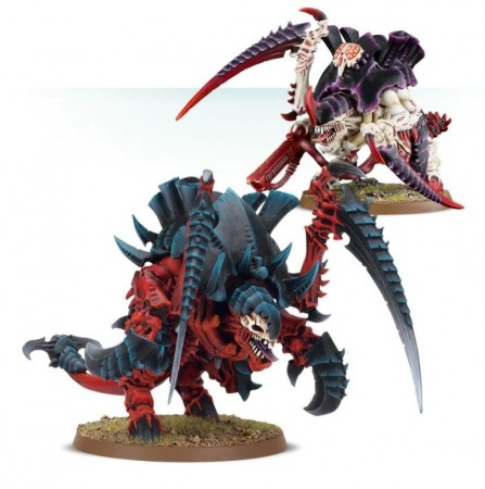 Tyranids - Old One's Carnifex Brood