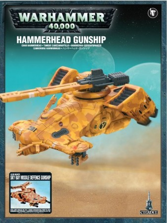 Tau Empire - Hammerhead Gunship