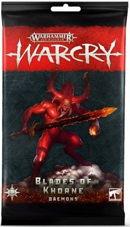 Warcry - Blades of Khourne Daemons Cards