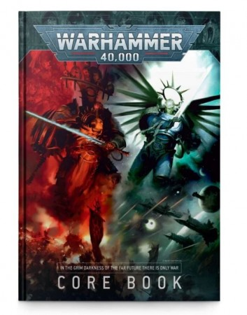 Warhammer 40K - Core RuleBook 9th. edtition