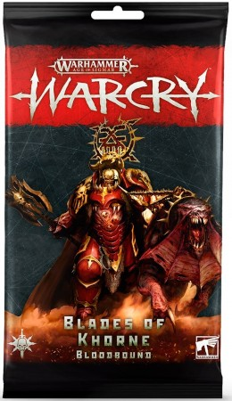 Warcry - Blades of Khourne Bloodbound Cards