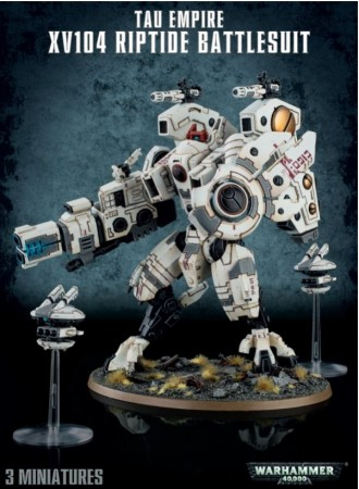 Tau Empire - XV04 Riptide Battlesuite
