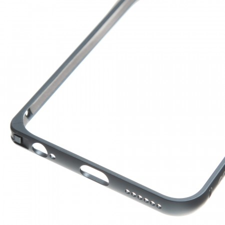 iPhone 6 Plus - Aluminium ramme - Sort