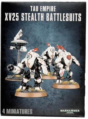 Tau Empire - XV25 Stealth Battlesuits