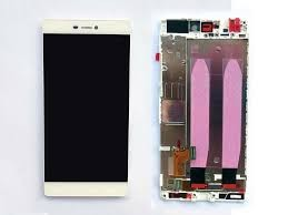 Huawei - P8 - LCD assembly med front housing - Hvit