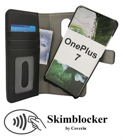 Skimblocker Magnet Wallet OnePlus 7 - Sort