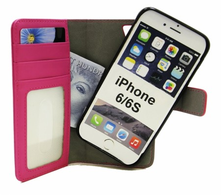 iPhone 6-7-8 - Skimblocker Wallet - Hotpink