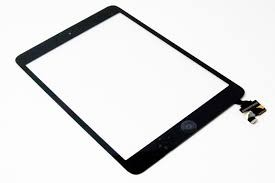 iPad Mini 2 - Glass og digitizer med IC - Sort