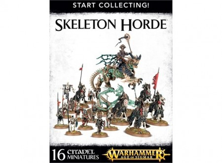 Legions of Nagash - Skeleton Horde Start Collecting !