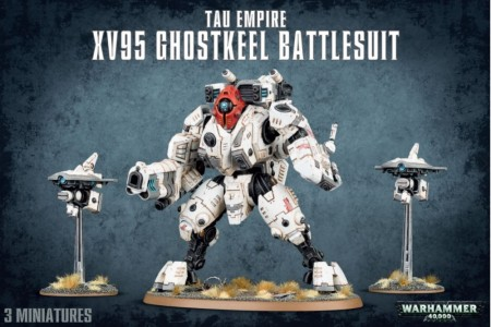 Tau Empire - XV95 Ghostkeel Battlesuit