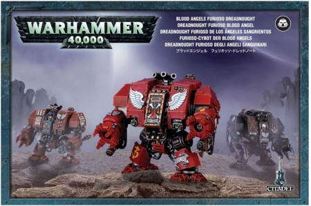 Blood Angels - Furioso Dreadnaught