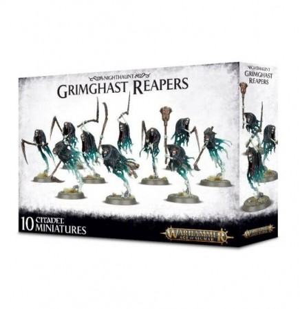 Nighthaunt - Grimghast Reapers