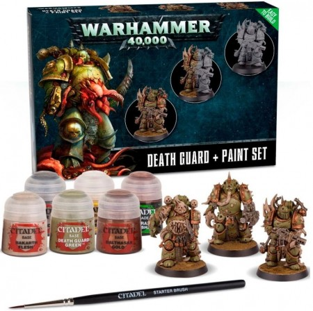 Death Guard - Paint set+