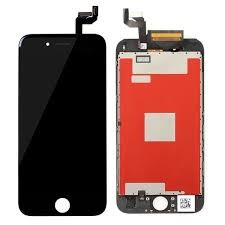 iPhone 6s - Display med orginal LCD - Sort