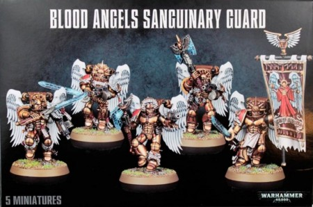 Blood angels - Sanguinary Guard