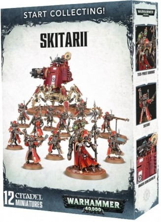 Adeptus Mechanicus - Skitarii Start Collecting !
