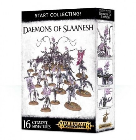 Hosts of Slaanesh - Start Collecting !