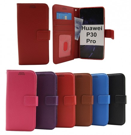 New Standcase Wallet Huawei P30 Pro - Hvit