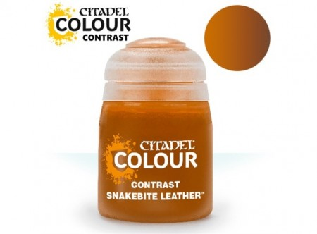 Citadel Paint Contrast - Snakebite Leather 18 ml