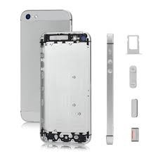 iPhone 5 - Bakramme Hvit