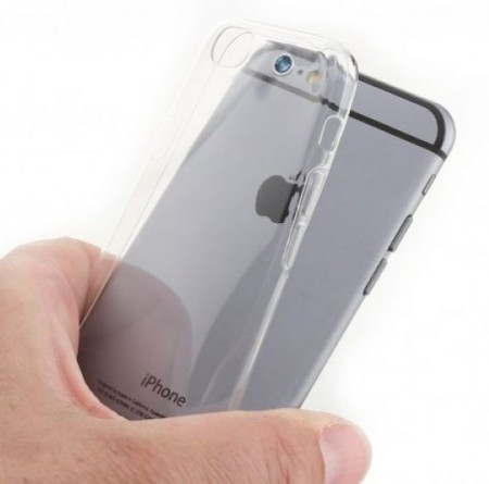 eSTUFF iPhone 6+/6S+ Clear TPU Cover