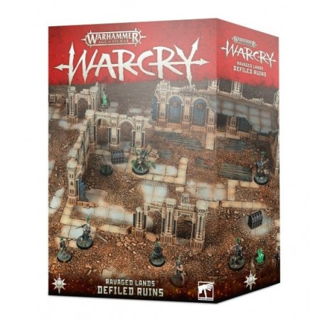Warcry - Ravage land Terrain Defiled Ruins