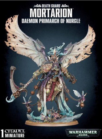 Death Guard - Mortarion Daemon Primarch