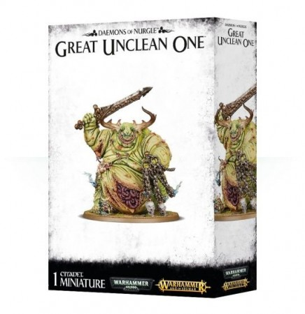 Daemons of Nurgle - Great unclean one