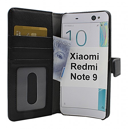 Xiaomi Redmi Note 9 - Skimblocker Magnet wallet - Sort