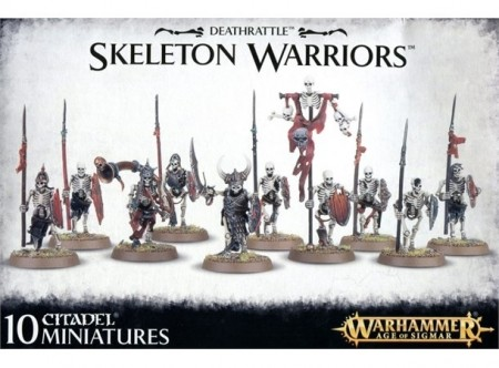 Legions of Nagash - Deathrattle Skeleton Warriors